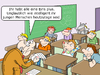 Cartoon: Schule 2.0 (small) by CloudScience tagged schule,schulsystem,bildungssystem,learning