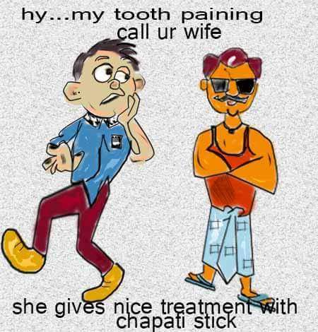 Cartoon: tooth pain (medium) by anupama tagged tooth,pain