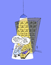 Cartoon: Celebrities (small) by stip tagged celebrities,talk,show,dead,refrigerator