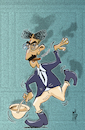 Cartoon: Hello - I must be going (small) by stip tagged groucho,marx,brothers,animal,crackers,julius