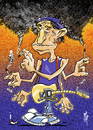 Cartoon: Keith Richards (small) by stip tagged keith,richards,rolling,stones,rock,guitar,smoke,cigarettes