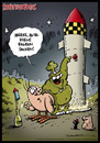 Cartoon: Schweinevogel Neues Jahr (small) by Schweinevogel tagged chwarwel iron doof swampie sid witz witzig neues jahr silvester raketen pinkel feiertag fun funny lustig