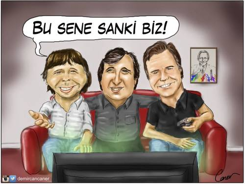 Cartoon: Metin Ali Feyyaz (medium) by Caner Demircan tagged metin,ali,feyyaz