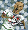 Cartoon: Ricardo Quaresma (small) by Caner Demircan tagged besiktas,quaresma,portugal,turkey