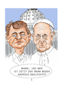Cartoon: Andreas Englisch und Papst (small) by Thomas Vetter tagged andreas,englisch,und,papst