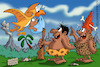 Cartoon: Prehistoric motherhood (small) by Ludus tagged prehistory,motherhood,caveman,cavemen