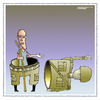 Cartoon: End Fighter (small) by kifah tagged end,fighter