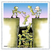Cartoon: End Statue (small) by kifah tagged end,statue