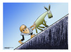 Cartoon: Sisyphus (small) by kifah tagged sisyphus