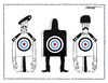 Cartoon: Targets (small) by kifah tagged targets