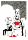 Cartoon: Terrorism (small) by kifah tagged terrorism
