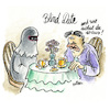 Cartoon: Blind Date (small) by REIBEL tagged burka,date,blinddate,treffen,singles,smalltalk