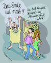 Cartoon: Prophet (small) by REIBEL tagged prophet,endzeitstimmung,weltuntergang,kino,ende,untergang