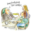 Cartoon: Skills matter (small) by REIBEL tagged frauenquote,business,chefetage,soft,skills,emanzipation,diskriminierung