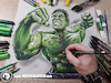 Cartoon: Drawing Hulk - 3D Comics (small) by Art by Mihai Alin Ion tagged drawing,illustration,painting,3dart,mihaialinion,pencildrawing,comicbook,comics,incrediblehulk,thehulkk,drawinghulk,brucebanner,marvel,superheroes
