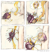 Cartoon: RApuNZEL (small) by OTTbyrds tagged rapunzel,märchen,prinz,prinzessin,haar,ranzig,fairytale,oldstories