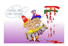 Cartoon: attack in Syria (small) by vasilis dagres tagged syria,trump,erdogan
