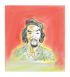 Cartoon: Ernesto Guevara (small) by vasilis dagres tagged guevara,cuba,argentina