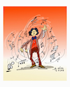 Cartoon: music (small) by vasilis dagres tagged culture,music