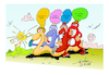 Cartoon: NEW YEAR 2018 (small) by vasilis dagres tagged thanks,new,year