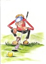 Cartoon: golf fixing short final (small) by higi tagged golfgame,golf,ball,golfer,happiness,sport,lineupverlag,comic