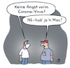 Cartoon: Corona Virus (small) by Lo Graf von Blickensdorf tagged corona,virus,atemschutz,maske,ansteckung,pandemie,nerd,epidemie,computer,apple,mac,macintosh,computervirus,virusschutzprogramm,karikatur,lo,cartoon,angst,hamsterkauf,panik,quarantäne,medizin