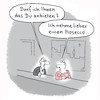 Cartoon: Neulich in an der Bar (small) by Lo Graf von Blickensdorf tagged bar,mann,frau,duzen,siezen,prosecco,flirt,kavalier,livestyle,tinder,dating,single,partnersuche,partnerin,beziehung