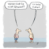 Cartoon: Nicht tätowiert? (small) by Lo Graf von Blickensdorf tagged tattoo,tätowiert,studiert,studium
