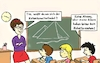 Cartoon: Kabelfernsehen (small) by freshdj tagged tv,teacher,school