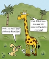Cartoon: Käsefüße (small) by freshdj tagged animals,big,giraffe