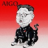 Cartoon: AIGO (small) by takeshioekaki tagged aibo