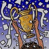 Cartoon: Real Madrid (small) by takeshioekaki tagged real,madrid,champions,league,final,atletico,cup,2014,lisbon,lisboa,ronaldo,gale,football,soccer,cartoon,drawing,caricature,comic,illustration,cl