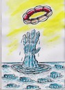 Cartoon: iceberg (small) by vadim siminoga tagged global,warming,iceberg,climate,life,economy