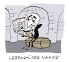 Cartoon: Vampizid (small) by Bregenwurst tagged suizid,selbstmord,vampir,untot,knoblauch,rogoff