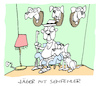 Cartoon: Waidmann (small) by Bregenwurst tagged jäger,sehfehler,jagd,hund,trophäe