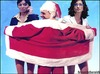 Cartoon: PAPI NATALE (small) by edoardo baraldi tagged berlusconi,gelmini,carfagna
