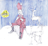 Cartoon: when the day is done (small) by herranderl tagged santa,claus