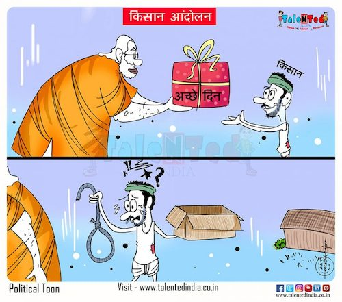 Cartoon: All the promises were lost ... (medium) by Talented India tagged cartoon,talented,talentednews,talentedview