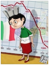 Cartoon: Crescita ITALIA (small) by Christi tagged italia,pil,crescita