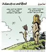 Cartoon: adam eve and god 06 (small) by mortimer tagged mortimer mortimeriadas cartoon comic gag adam eve god bible paradise eden biblical christian original sin sex nude toons hairy belly blonde snake apple