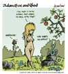 Cartoon: adam eve and god 12 (small) by mortimer tagged mortimer mortimeriadas cartoon comic gag adam eve god bible paradise eden biblical christian original sin sex nude toons hairy belly blonde snake apple