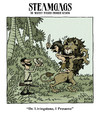 Cartoon: steamgags 03 (small) by mortimer tagged steampunk,steamgags,tarzan,lion,edgar,rice,burroughs,dr,livingstone,stanley,africa,explorer,exploration,pastiche,mortimer,mortimeriadas,alberto,lopez,aroca,ala