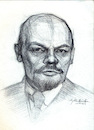 Cartoon: Vladimir Lenin (small) by Sajith Bandara tagged lenin