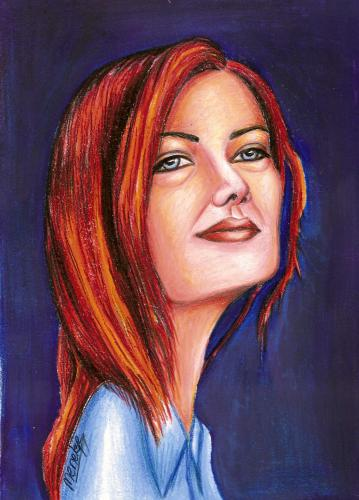 Cartoon: Candan Ercetin (medium) by menekse cam tagged song,singer,woman,sensizlik,without,you