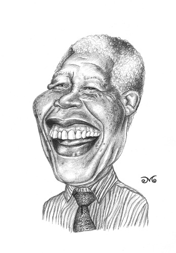 Cartoon: Nelson Mandela (medium) by menekse cam tagged south,african,antiapartheid,revolutionary,politician,philanthropist,president,africa,democratic,socialist,south,african,antiapartheid,revolutionary,politician,philanthropist,president,africa,democratic,socialist
