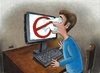 Cartoon: Internet censorship2 (small) by menekse cam tagged internet,censorship,turkey,prohibits,freedom,twitter,facebook,websites,sansür,abdullah,gül,özgürlük,yasaklar