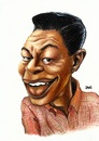Cartoon: Nat King Cole (small) by menekse cam tagged nathaniel,adams,coles,jazz,pop,great,love,songs,usa,american,singer,nat,king,cole,unforgettable,monalisa,the,girl,from,ipanema,quizas,rambling,rose,to,young,when,fall,in