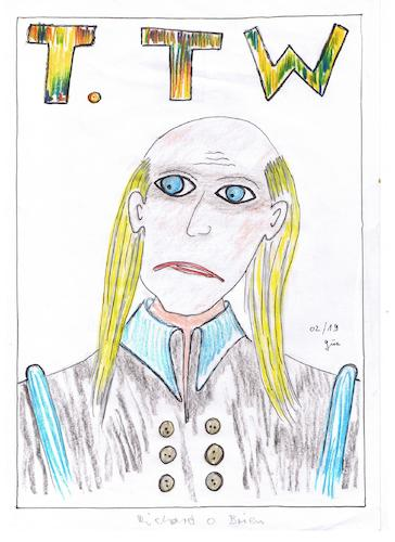 Cartoon: RIFF RAFF richard O Brian (medium) by skätch-up tagged time,warp,richard,brian,riff,raff,rocky,horror,picture,show,susan,sarandon,janet,weiss,dr,frank,furter,jim,curry,brat,majors,columbia,magenta,everett,von,scott