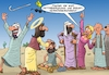 Cartoon: Healing (small) by C Berger tagged schönheits,op,jesus,heilung,religion
