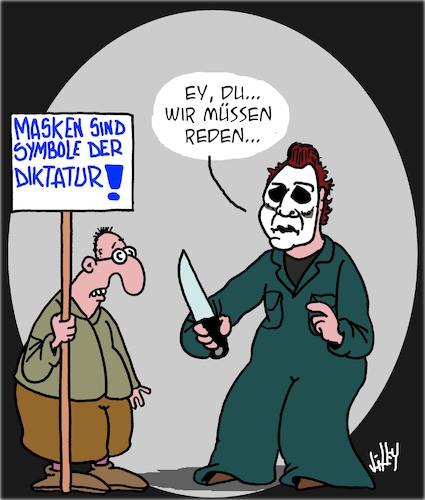 Anti-Masken-Protest